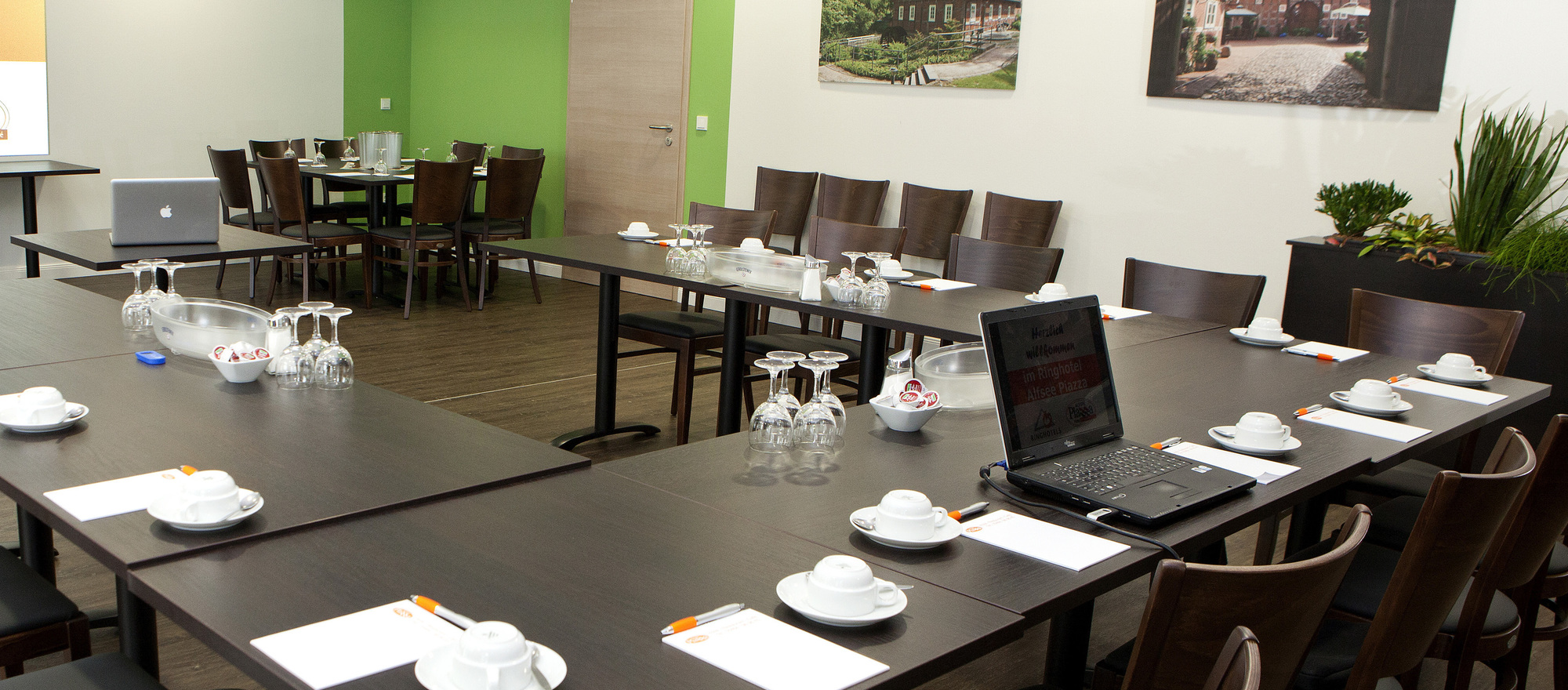 Conference and ceremonies in the 3-star-superior hotel Ringhotel Alfsee Piazza in Rieste
