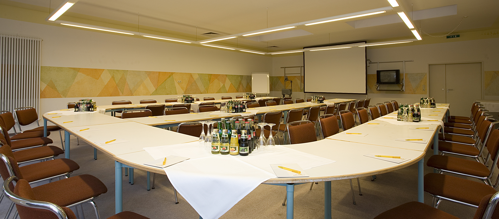 Spacious event rooms at the 4-star hotel Ringhotel Residenz in Wittmund