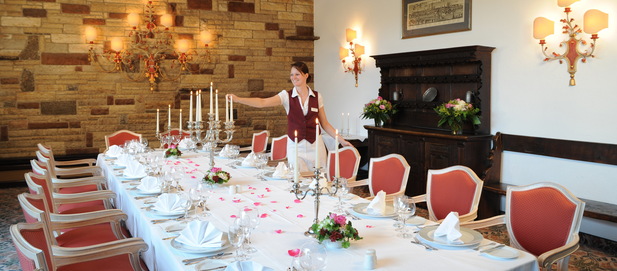 Elegant rooms for celebrations in the 4-star Ringhotel Seehof in Berlin