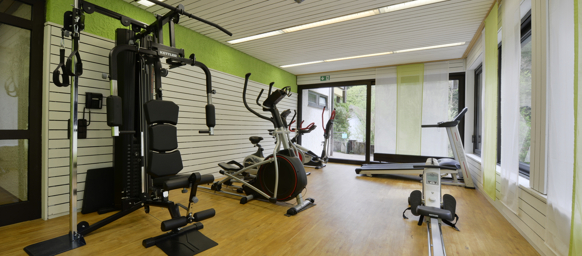 Keep fit at the 4-star Ringhotel Moenchs Waldhotel in Unterreichenbach