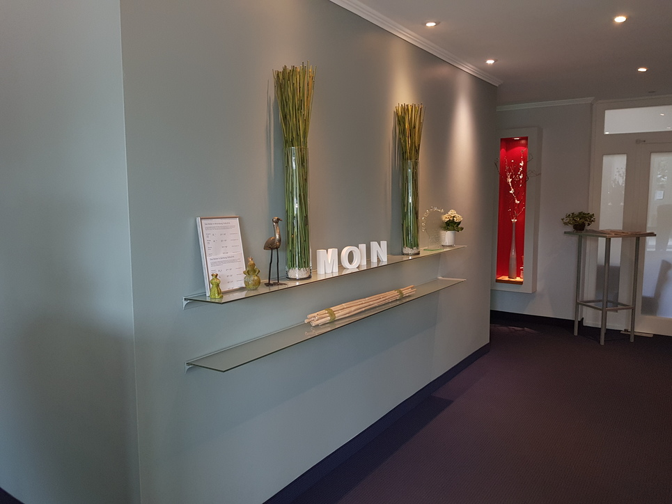 Hotel reception at Ringhotel Ahrensburg garni, 3 star superior hotel in the metropolitan region Hamburg