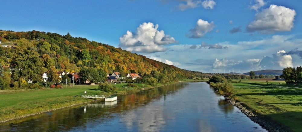 Weser river, Ringhotel Der Waldkater in Rinteln, 4-star hotel in the Weser Uplands