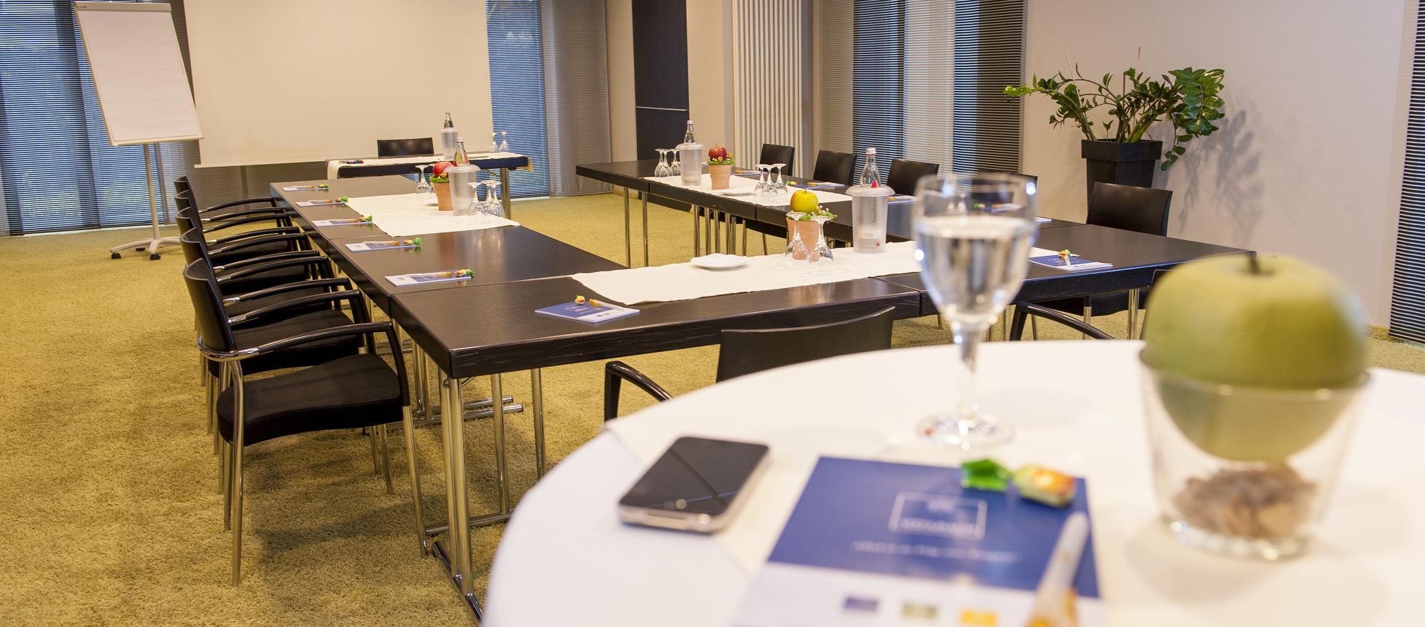 Conferencing with the all-round carefree package at the 4-star hotel Ringhotel Appelbaum in Guetersloh