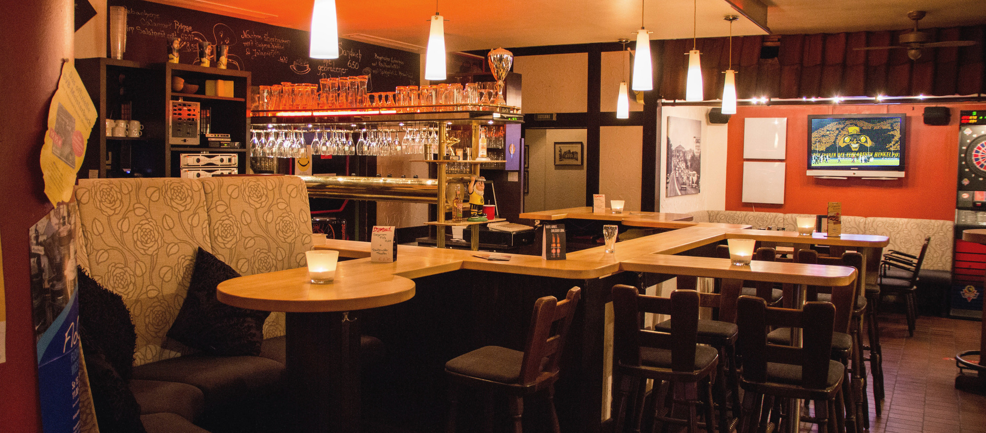 Unforgettable evening events at the Alte Gasse bar in the 4-star Ringhotel Drees in Dortmund