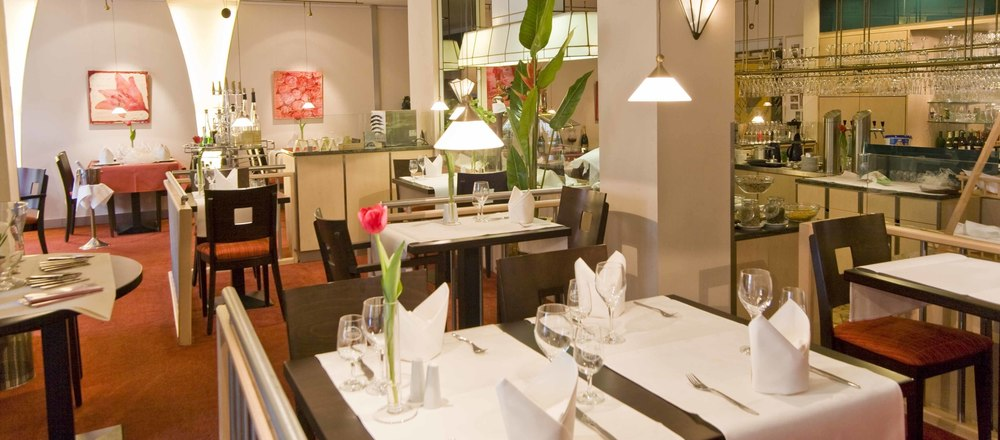 The kitchen is based on fresh, regional specialties in the 4-star Ringhotel Drees in Dortmund