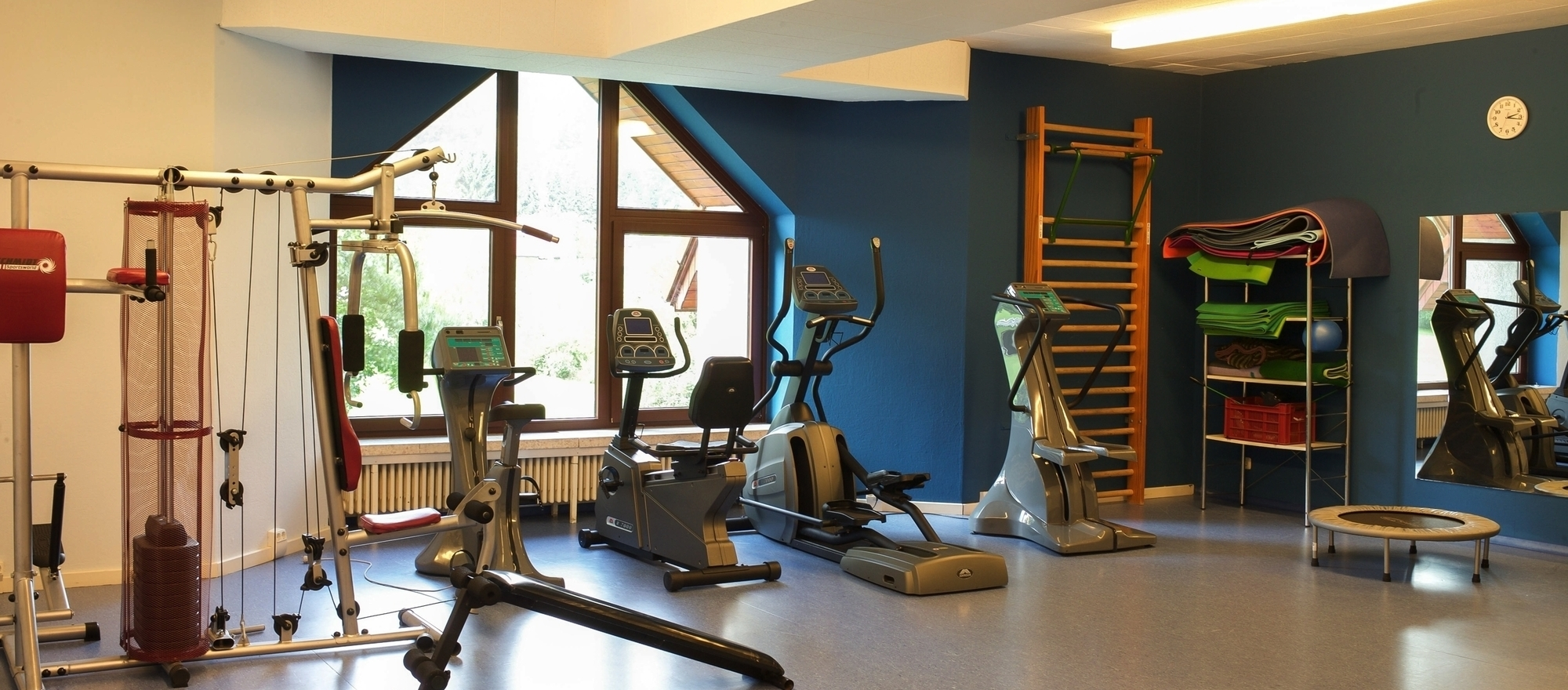 Fitness room at the 4-star hotel Ringhotel Waldhotel Baerenstein in Horn-Bad Meinberg