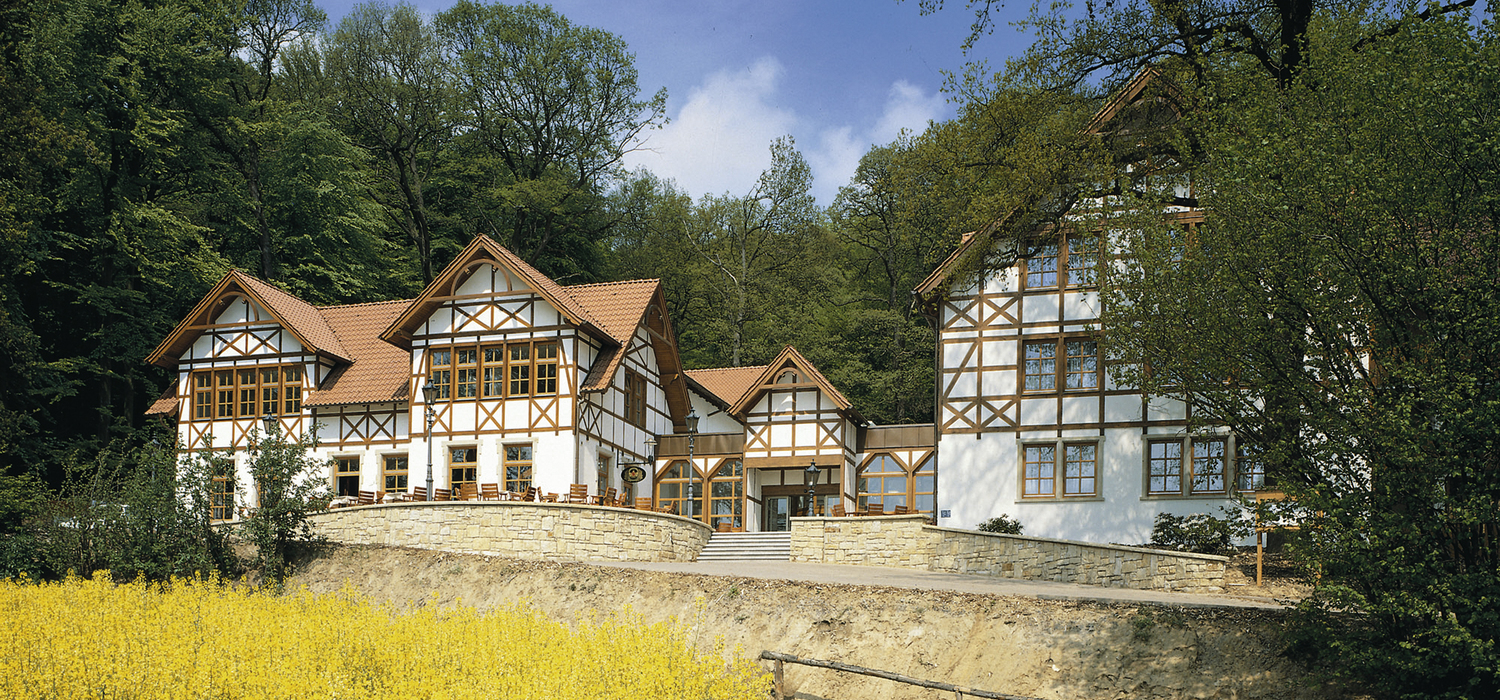 The 4-star hotel Ringhotel Der Waldkater in Rinteln name as unique as the destination it stands for