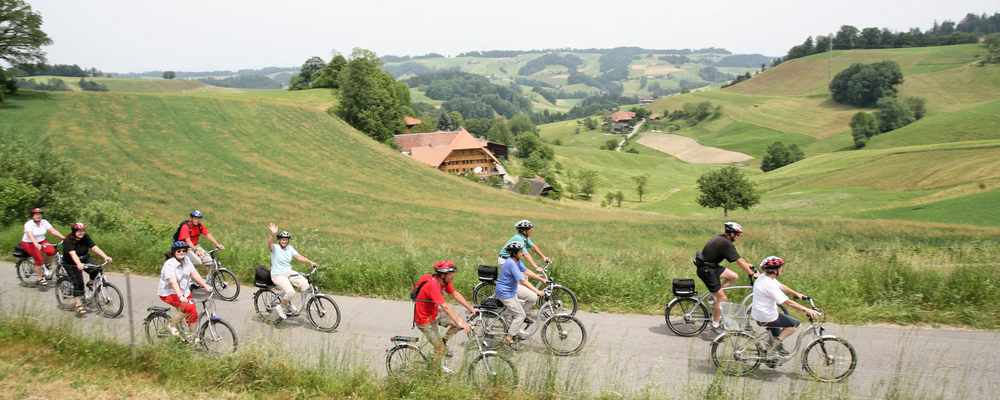 Bike tours in the Markgraeflerland region around the 3-star-superior Ringhotel Aparthotel Badblick garni in Bad Bellingen
