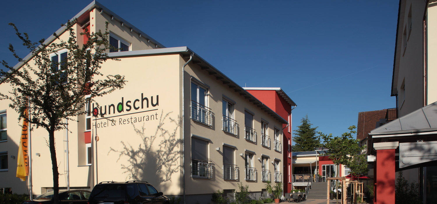 The 4-star hotel Ringhotel Bundschu in Bad Mergentheim situated in the romantic Taubertal valley, near the historic district of Bad Mergentheim