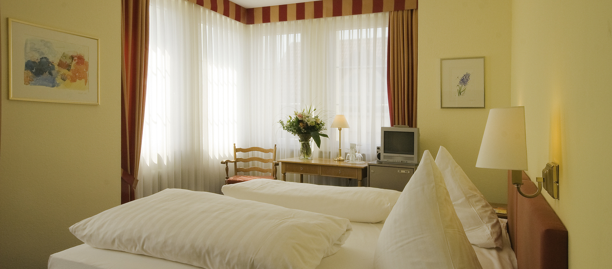 Classy comfort of living in Ringhotel Zum Goldenen Ochsen in Stockach, 4 star hotel at Lake Constance