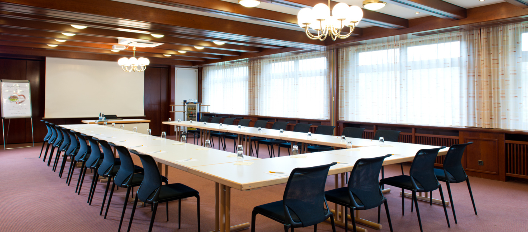 Function rooms up to 160 persons at the 4-star Ringhotel Schwarzwald-Hotel Silberkoenig in Gutach-Bleibach