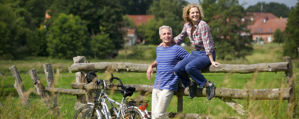 Bicycle tours around the Ringhotel Sellhorn in Hanstedt, 4-stars hotel in the Luneburg Heath region
