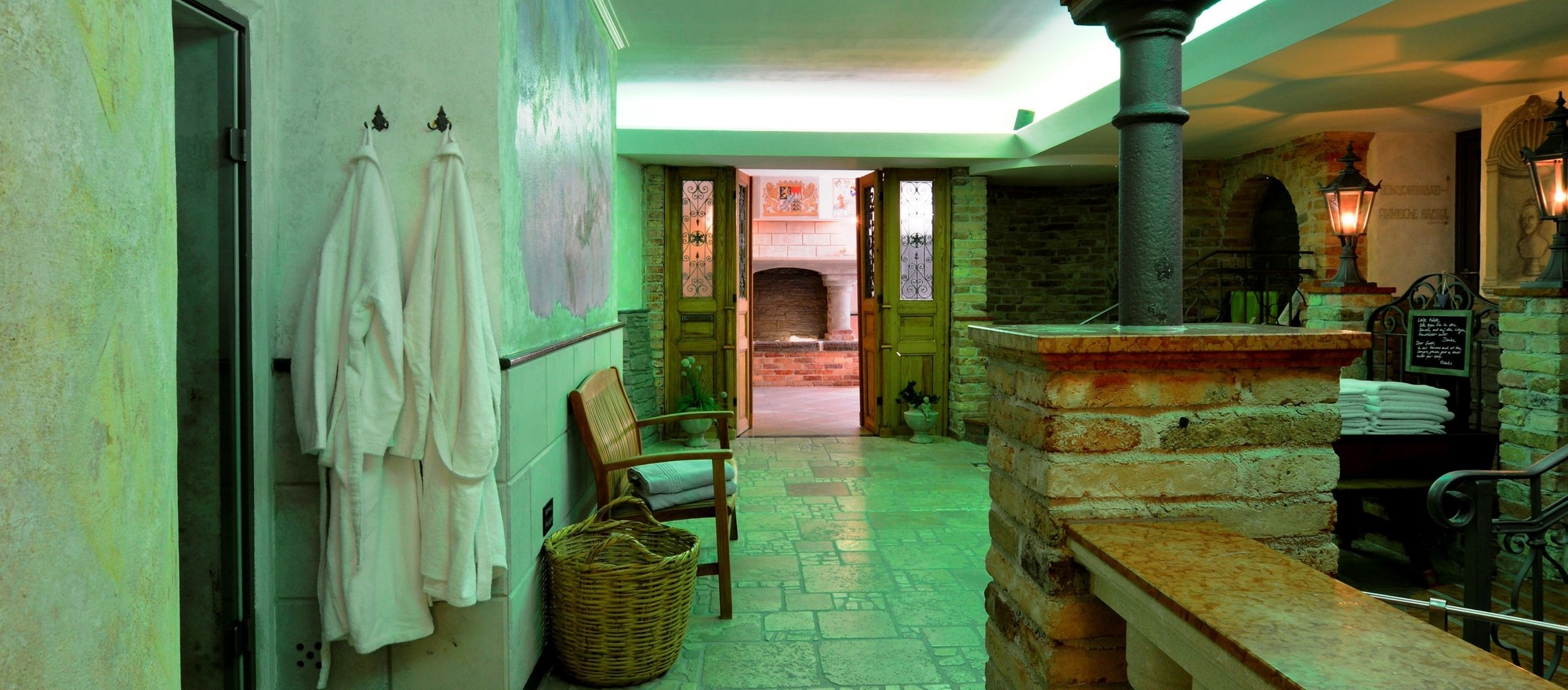 Spa area Palaestra in Ringhotel Alpenhof in Augsburg, hotel in Swabia