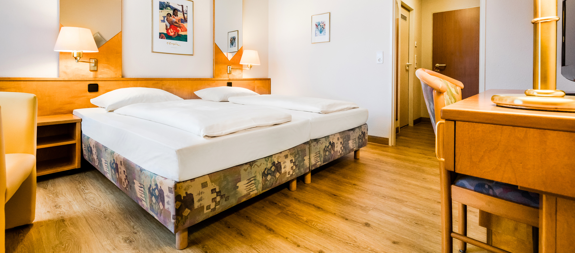 Well equiped rooms in the 4-star Ringhotel Residenz Alt Dresden in Dresden