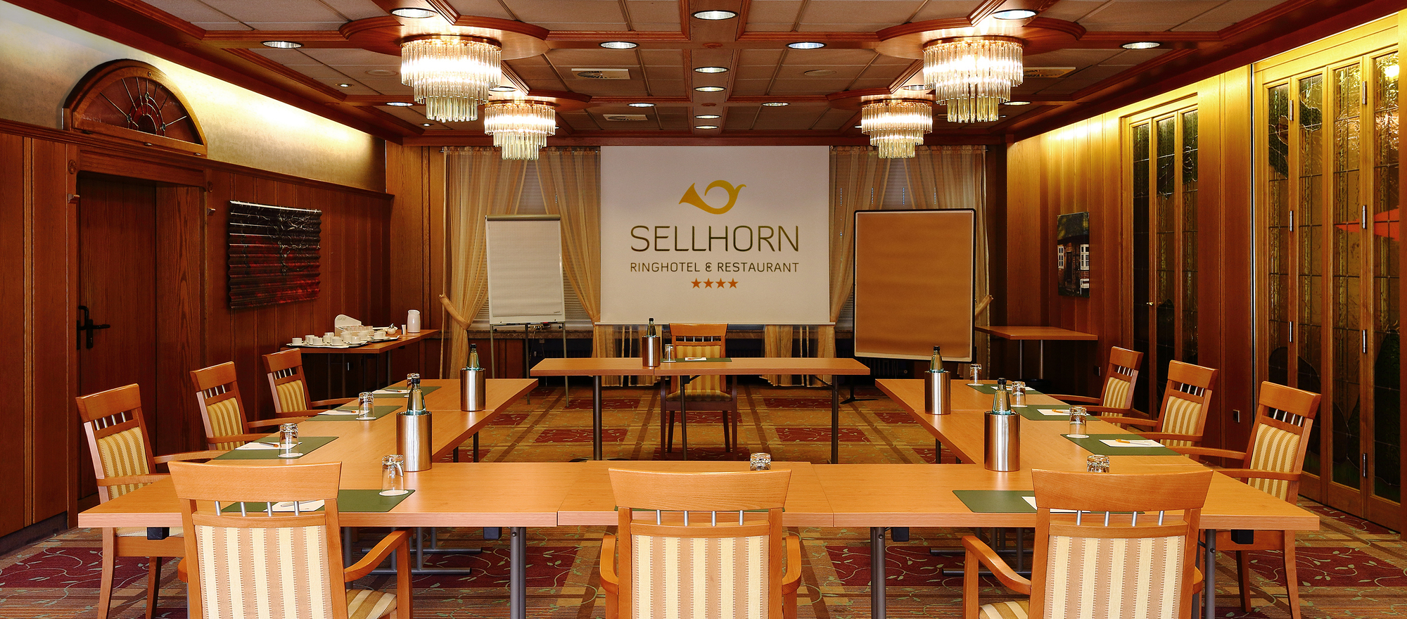 Conferences and meetings in the Lueneburg Heath at the 4-star hotel Ringhotel Sellhorn in Hanstedt