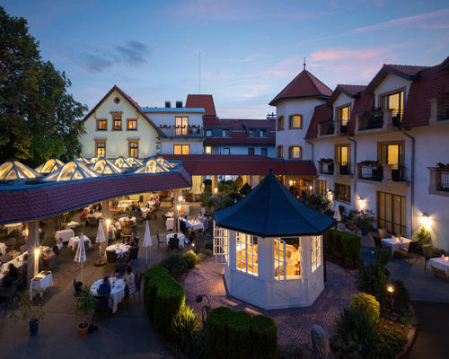 The 4-star hotel Ringhotel Winzerhof in Rauenberg located nearby the historically significant towns of Heidelberg and Speyer
