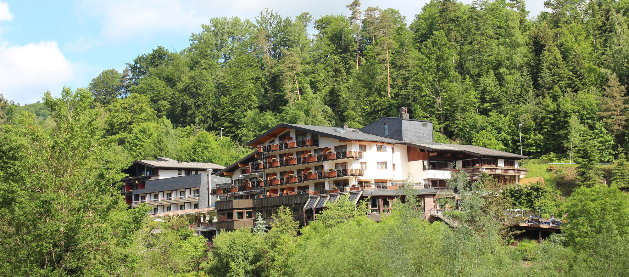 The 4-star Ringhotel Moenchs Waldhotel in Unterreichenbac is situated in the holiday region North Black Forest