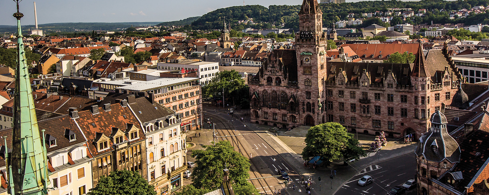 Saarbruecken, the capital of the Saarland