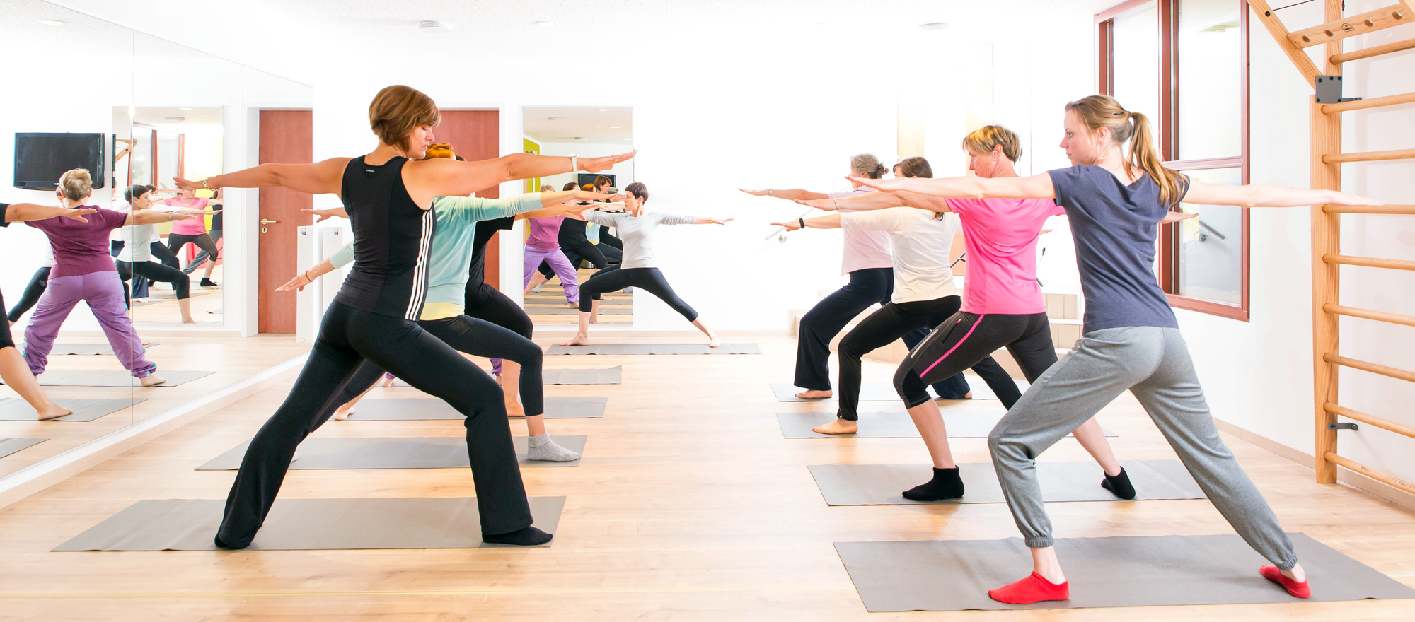 Aerobic and fitness classes at the the 4-star-superior hotel Ringhotel Teutoburger Wald in Tecklenburg