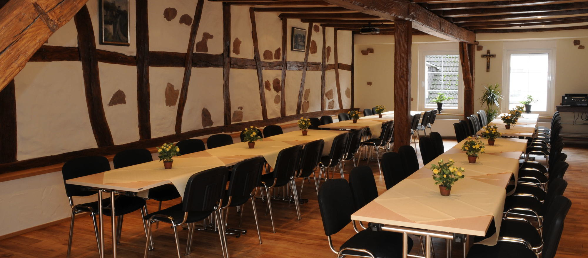 Meeting room in the Ringhotel Posthof garni, 3-star superior hotel in Saarlouis