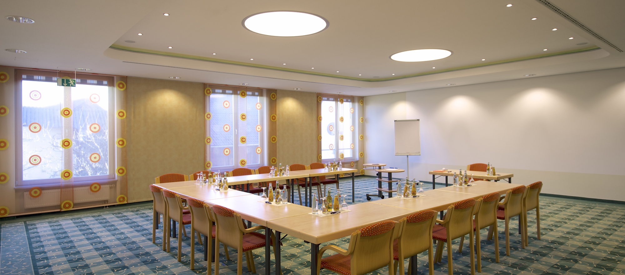 Conference room in the Ringhotel Krone in Friedrichshafen, 4-stars superior hotel at the Bodensee lake