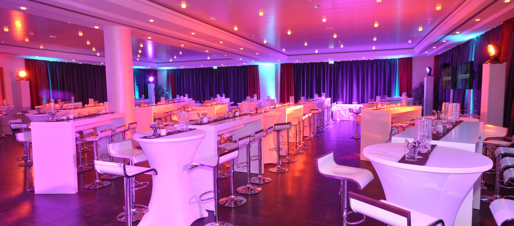 Party Location Corbie Palais in the Ringhotel Niedersachsen in Hoexter, 4 stars hotel in the Weserbergland region