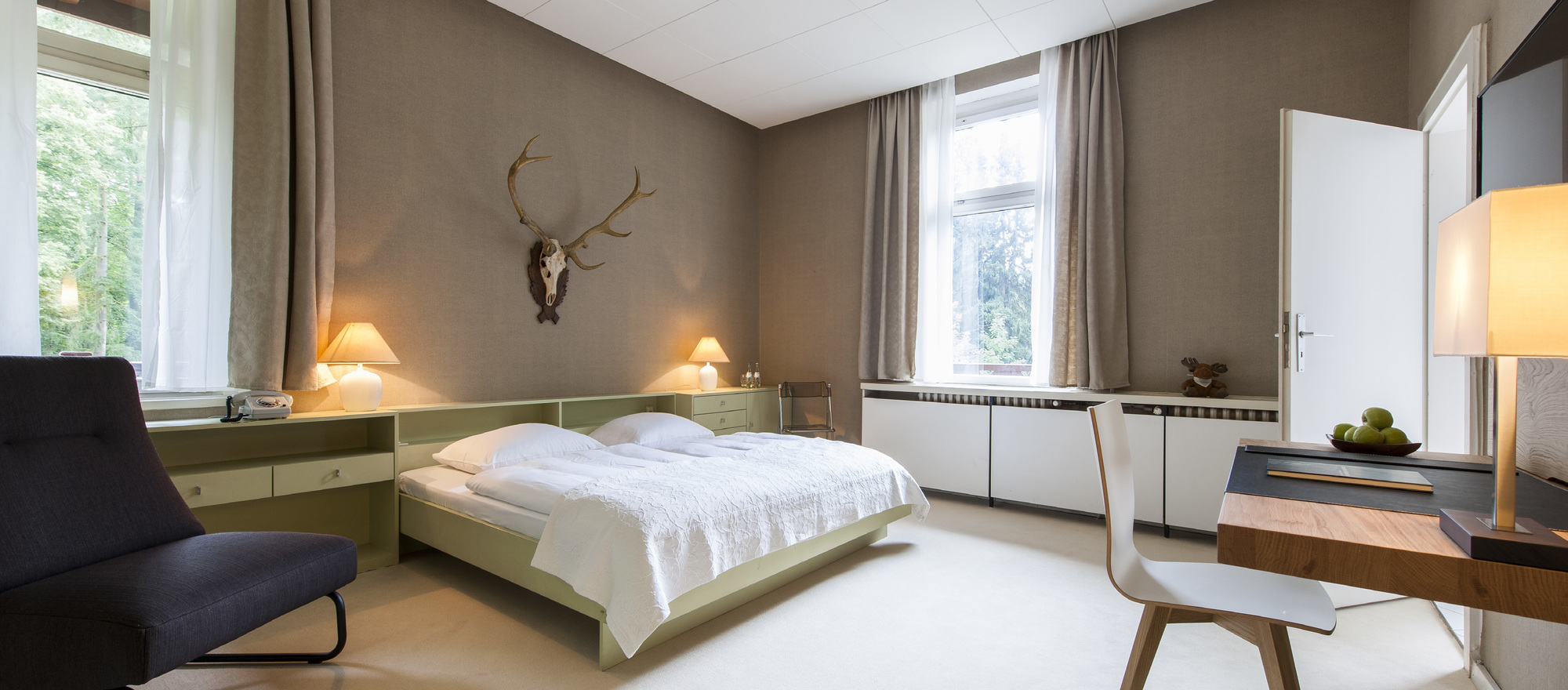 Hubertus Suite in the Ringhotel Schorfheide | Tagungszentrum der Wirtschaft in Joachimsthal, 4-stars hotel close to Berlin