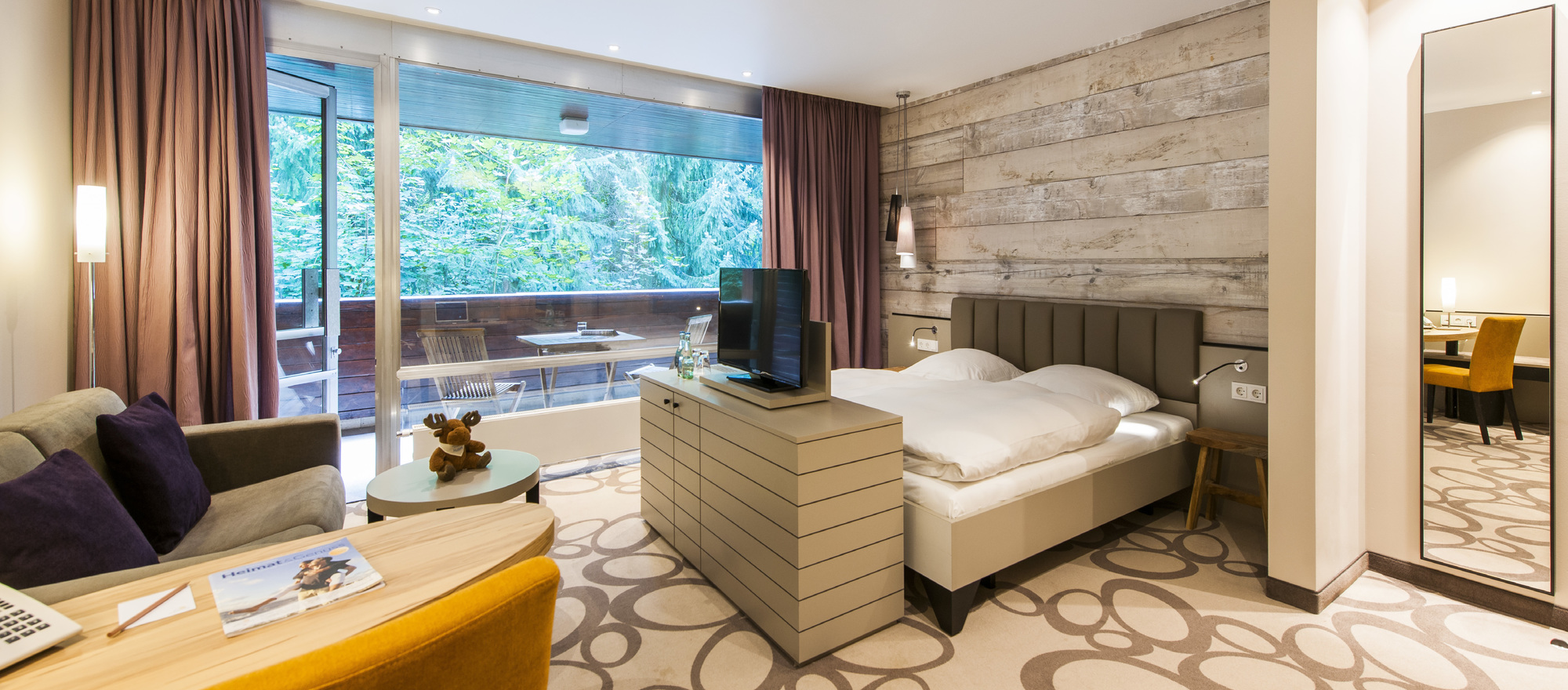 Relax plus room in the Ringhotel Schorfheide | Tagungszentrum der Wirtschaft in Joachimsthal, 4-stars hotel close to Berlin