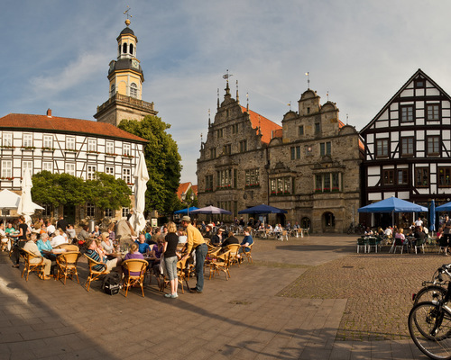 Marketplace of Rinteln, Ringhotel Der Waldkater in Rinteln, 4-star hotel in the Weser Uplands